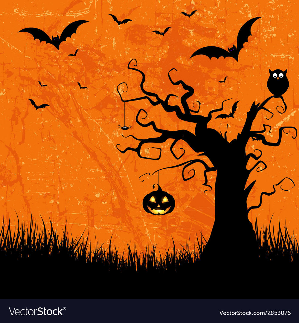 Grunge halloween background 2508 vector | Price: 1 Credit (USD $1)
