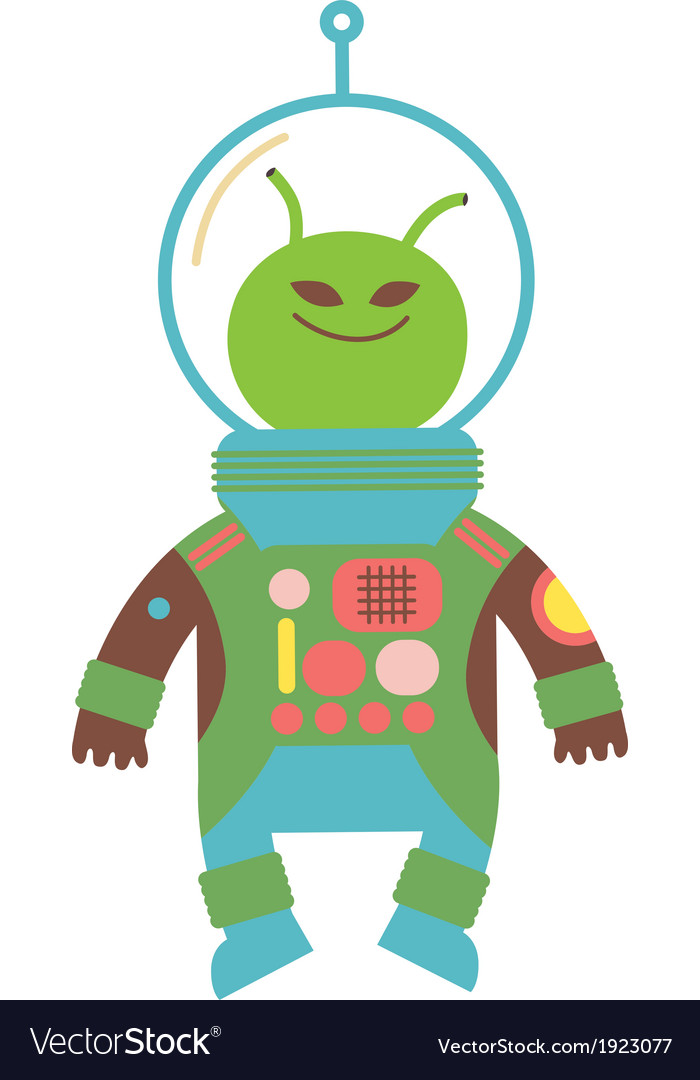 Cute alien vector | Price: 1 Credit (USD $1)