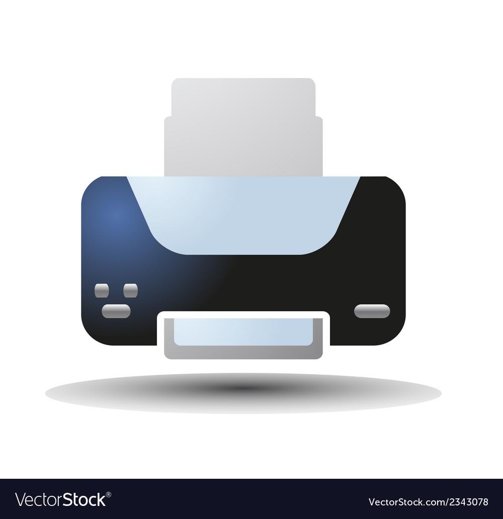 Printer vector | Price: 1 Credit (USD $1)