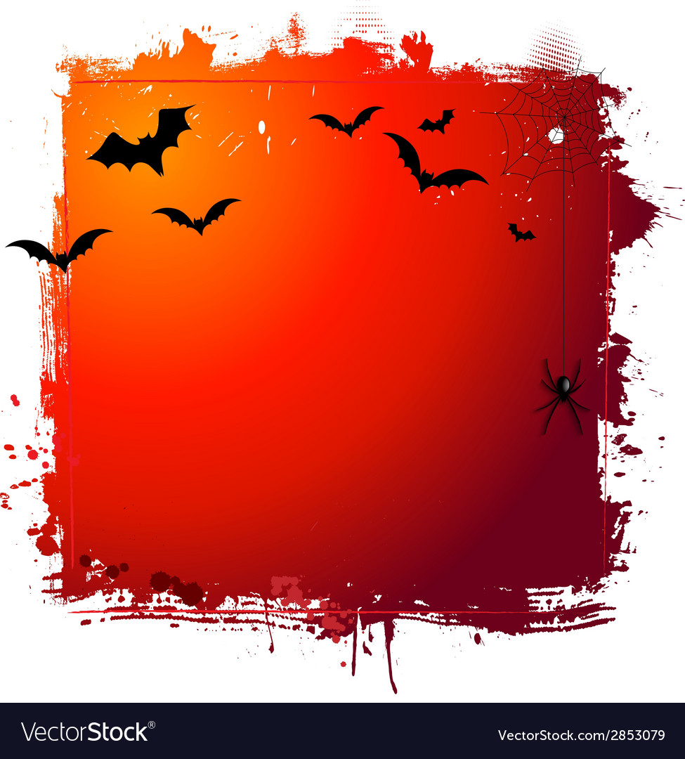 Halloween grunge background 0409 vector | Price: 1 Credit (USD $1)