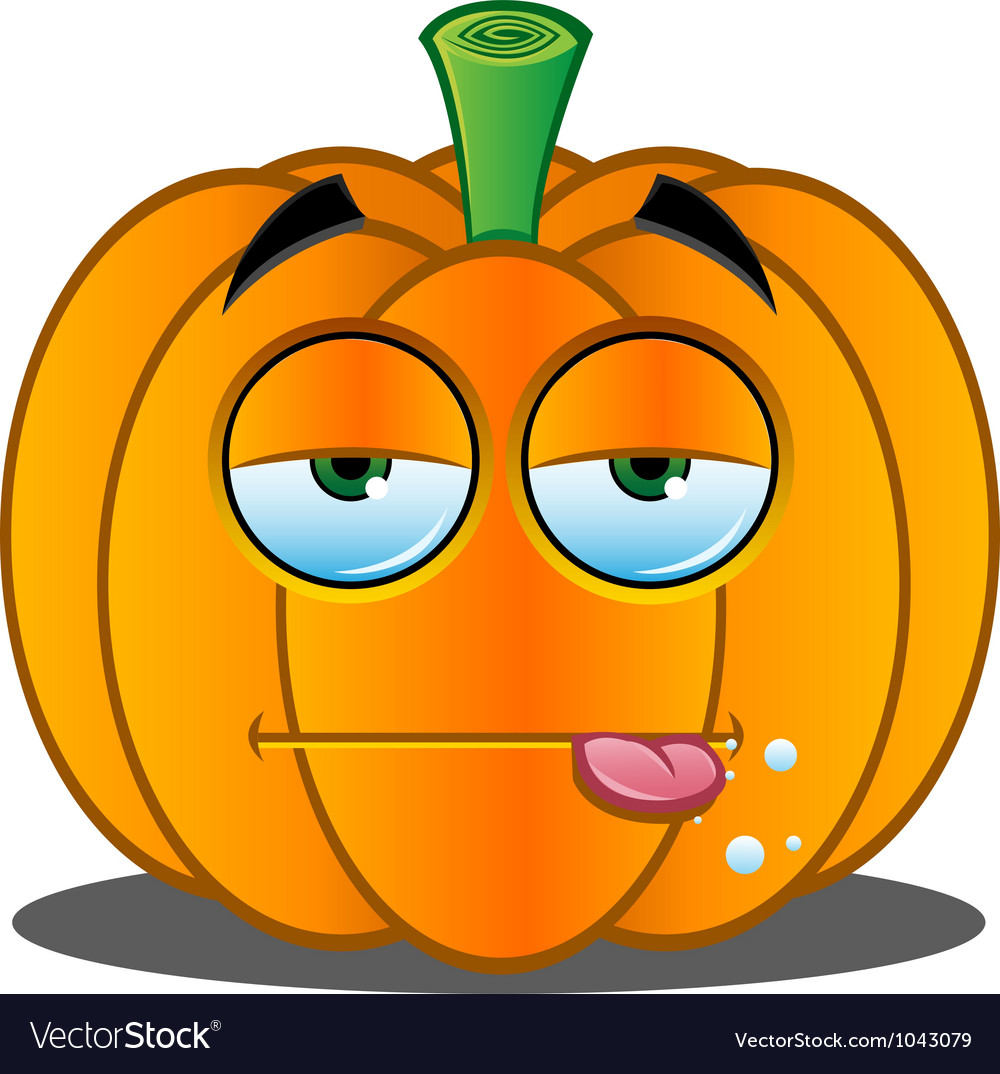 Pumpkin face 3 vector | Price: 1 Credit (USD $1)