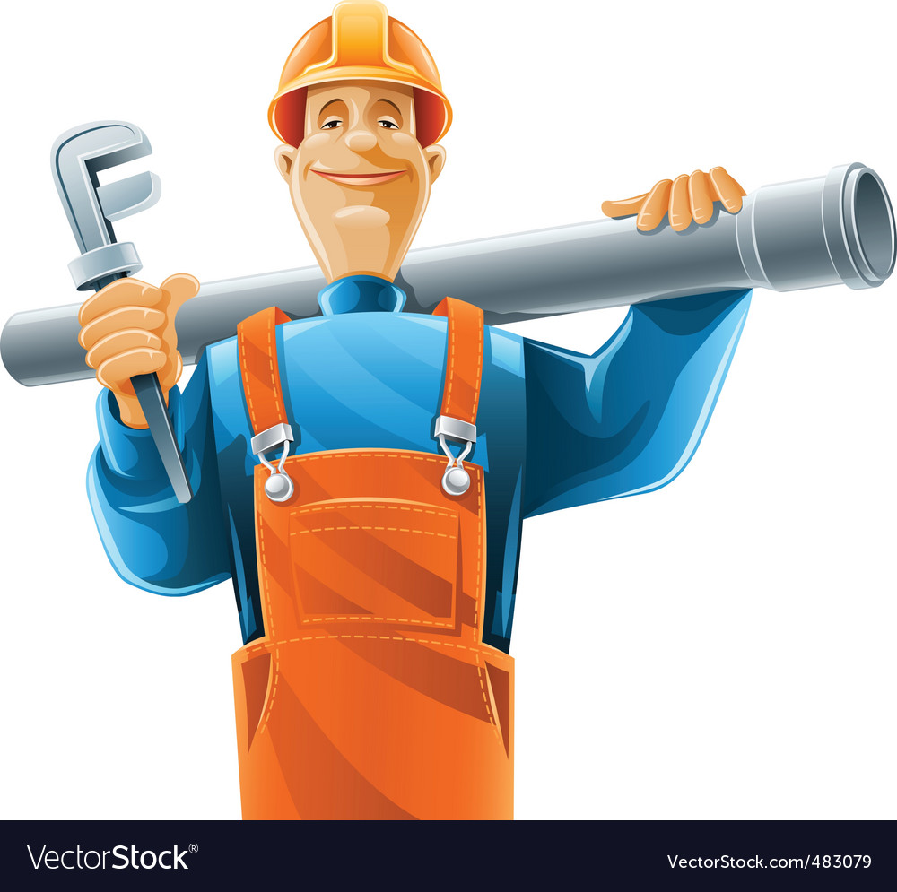 Sanitary technician vector | Price: 5 Credit (USD $5)