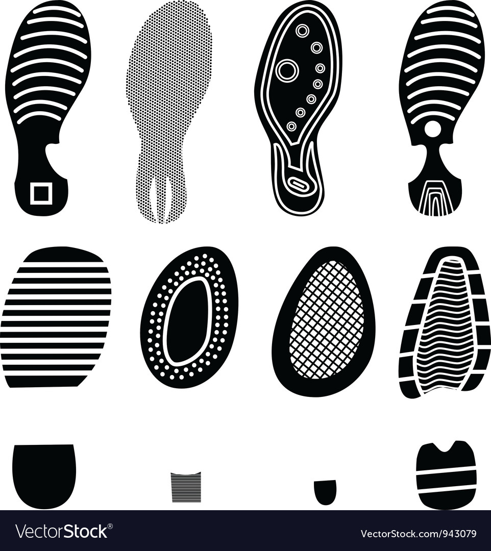 Soles shoes vector | Price: 1 Credit (USD $1)