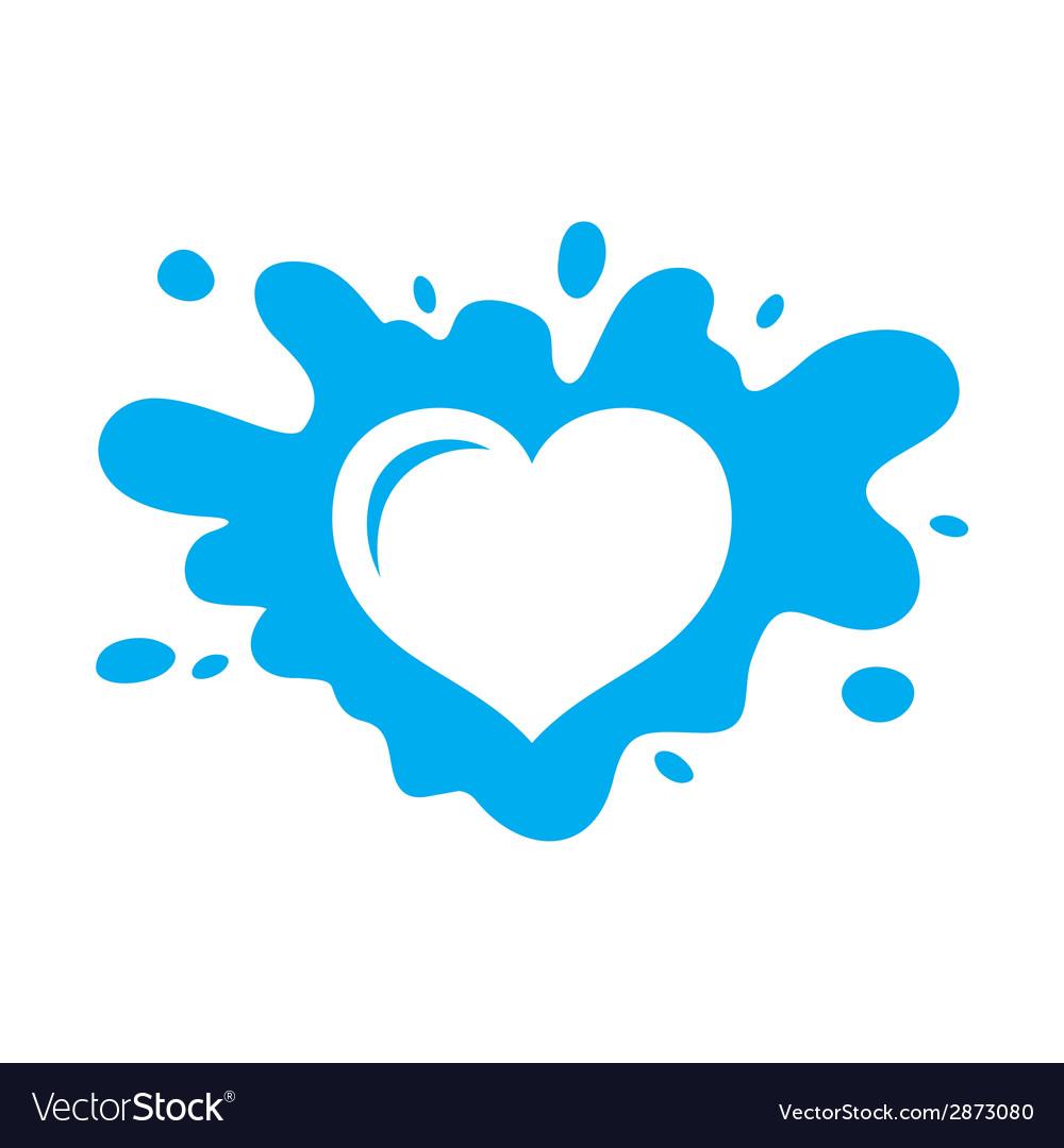 Love milk sign vector | Price: 1 Credit (USD $1)