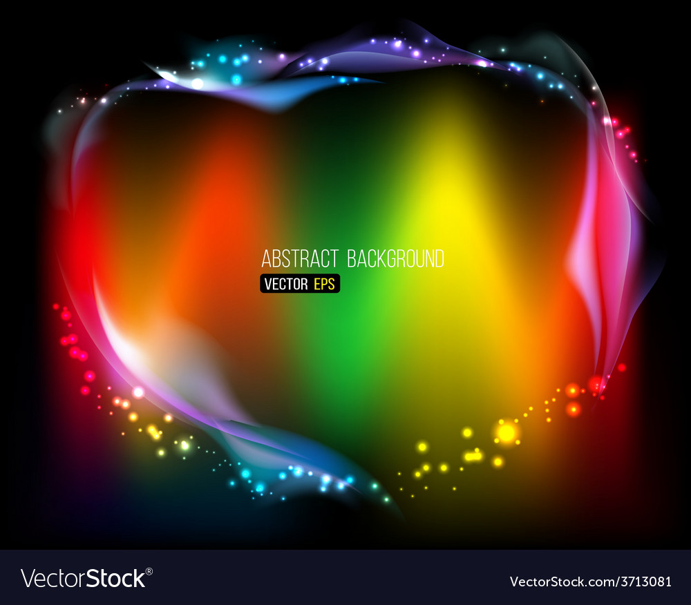 Abstract bright background abstraction with colour vector | Price: 1 Credit (USD $1)
