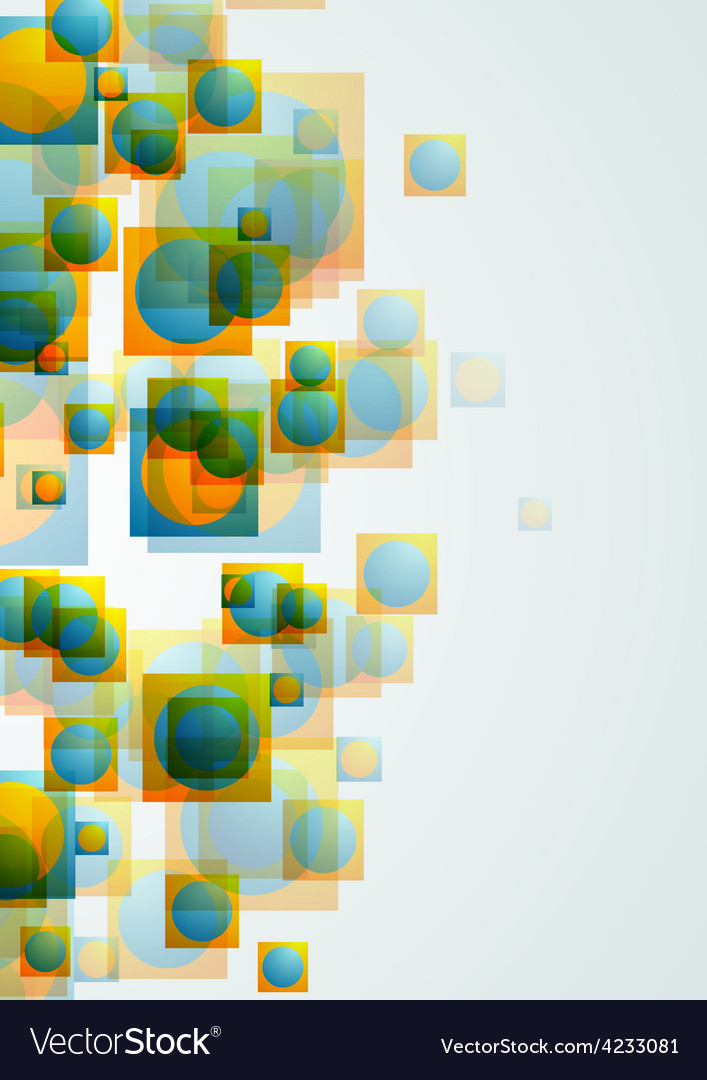 Abstract bright geometric concept background vector | Price: 1 Credit (USD $1)