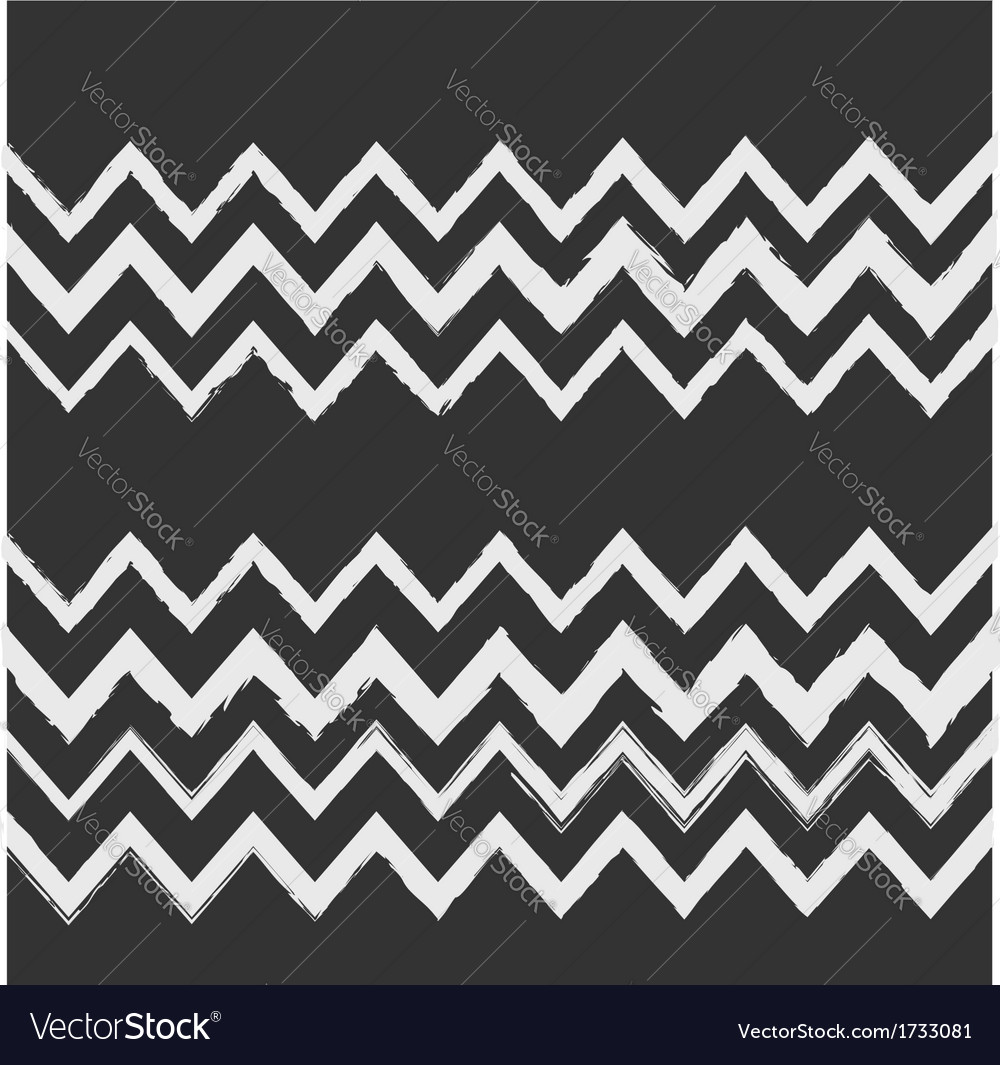 Chalkboard style seamless chevron pattern vector | Price: 1 Credit (USD $1)