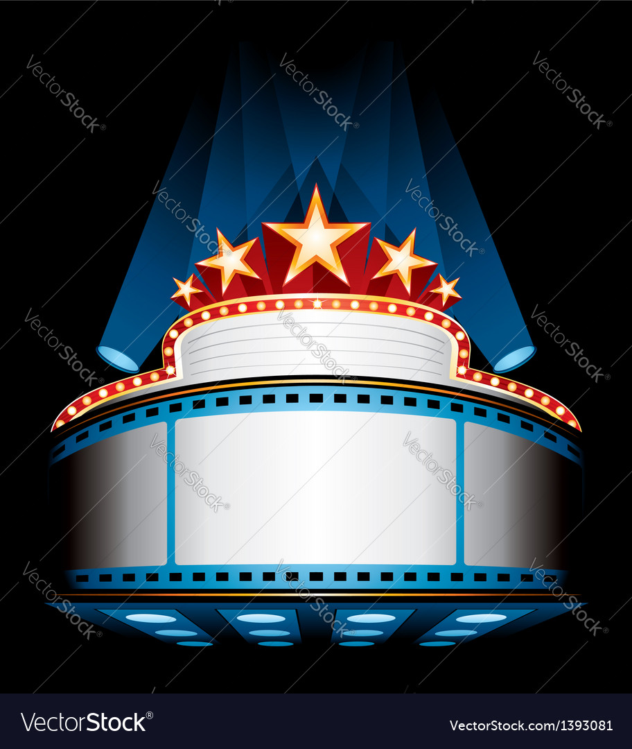 Movie premiere vector | Price: 1 Credit (USD $1)