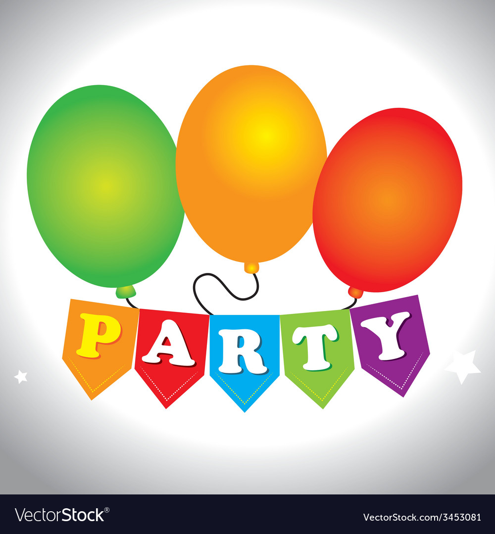 Party design vector | Price: 1 Credit (USD $1)