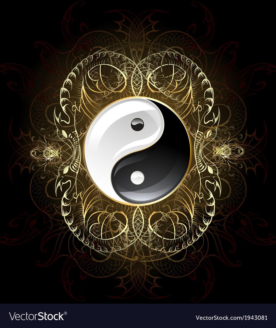 Symbol yin yang vector | Price: 1 Credit (USD $1)