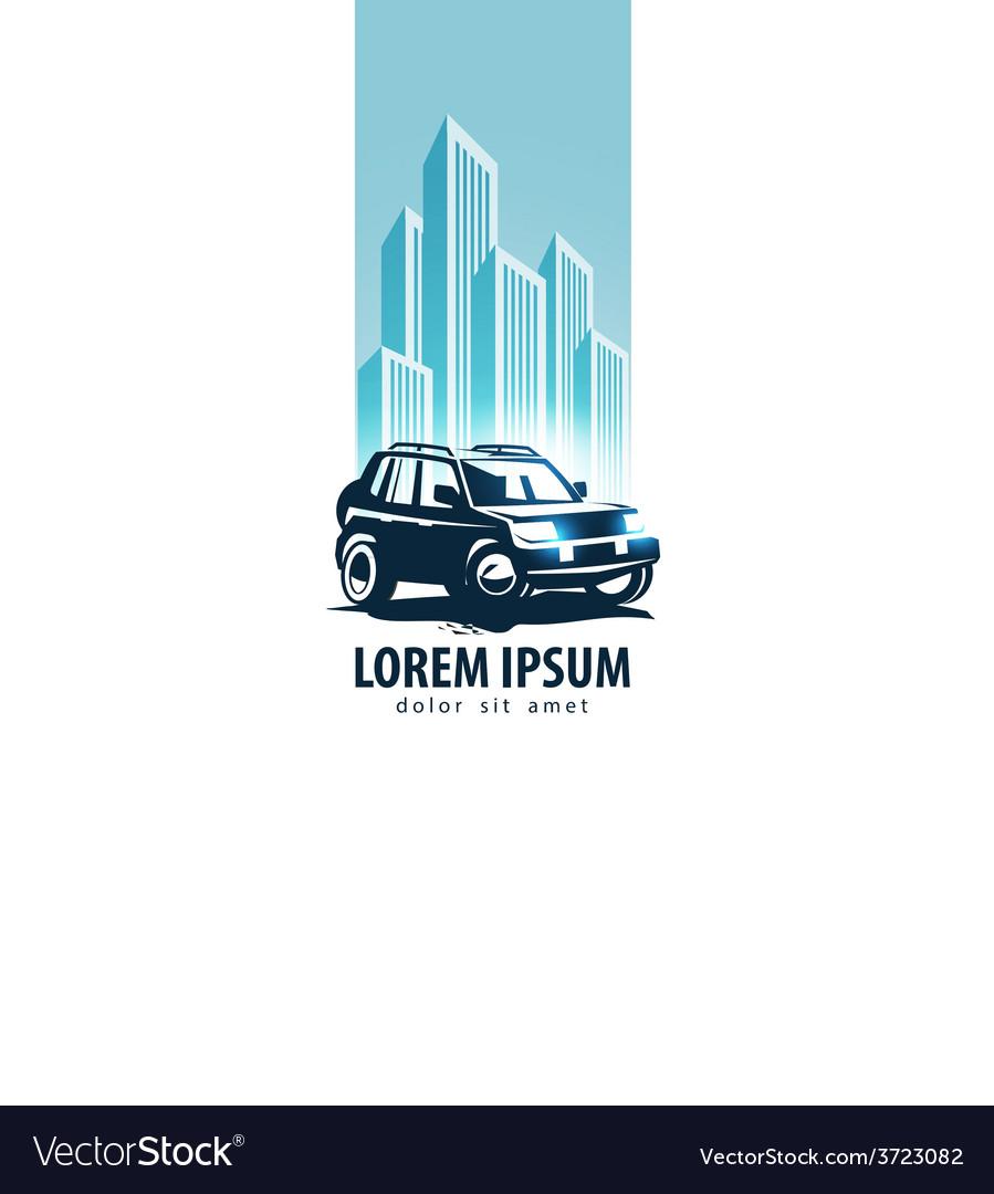 Car logo design template transport or vector | Price: 1 Credit (USD $1)