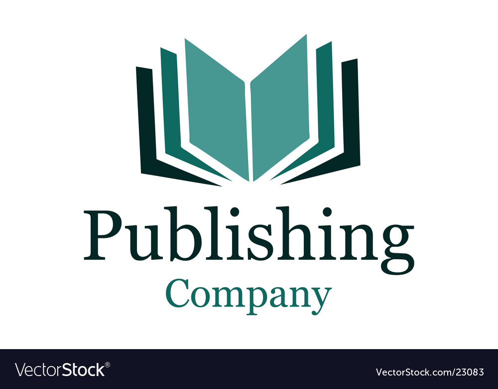 Publishing company logo vector