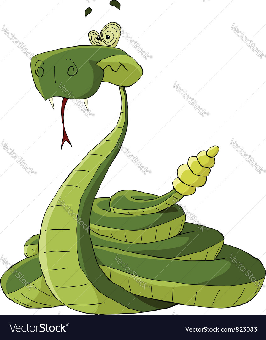 Rattlesnake vector | Price: 3 Credit (USD $3)