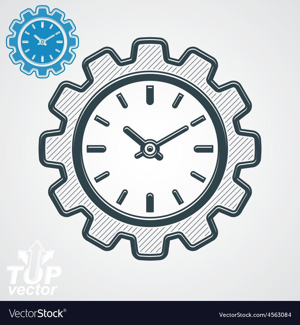 Engineering component cog wheel additional vector | Price: 1 Credit (USD $1)
