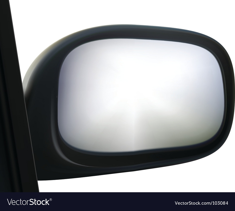 Side mirror vector | Price: 1 Credit (USD $1)