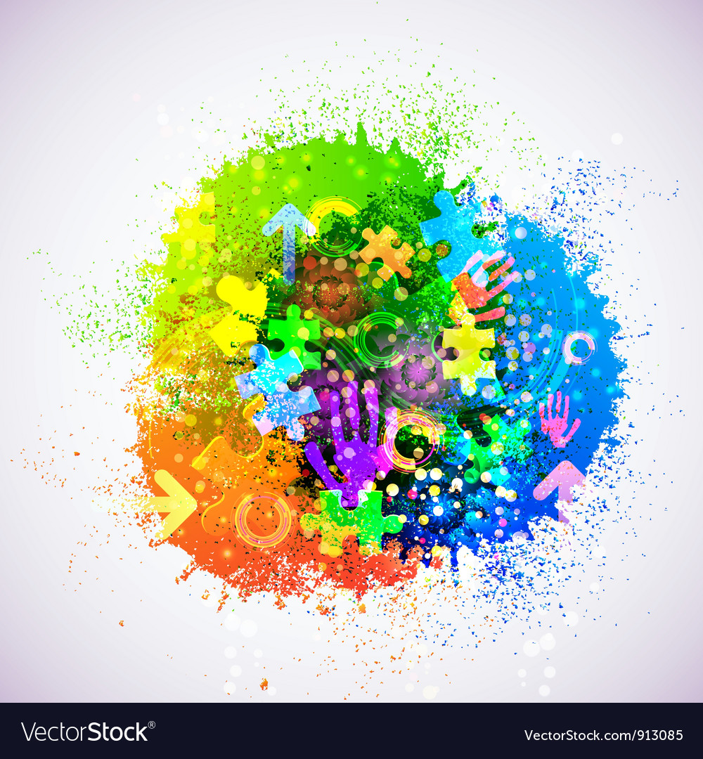Creative abstract background vector | Price: 1 Credit (USD $1)