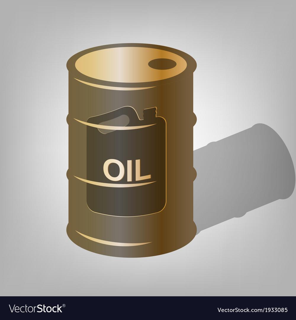 Oil barrel vector | Price: 1 Credit (USD $1)