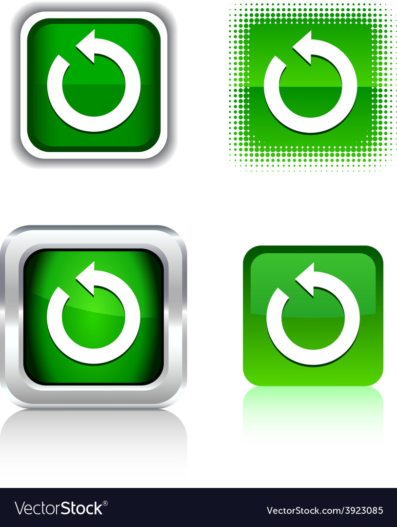 Refresh icons vector | Price: 1 Credit (USD $1)