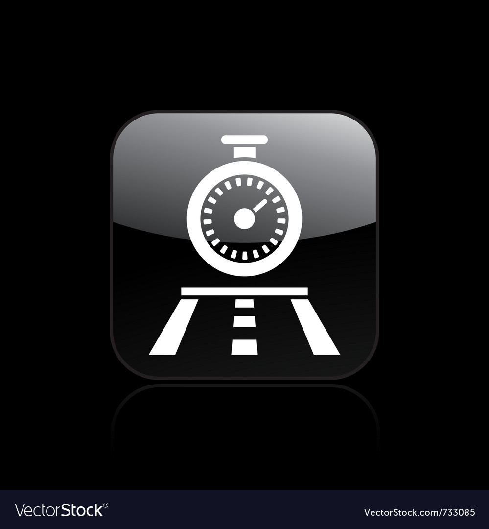 Timing race icon vector | Price: 1 Credit (USD $1)