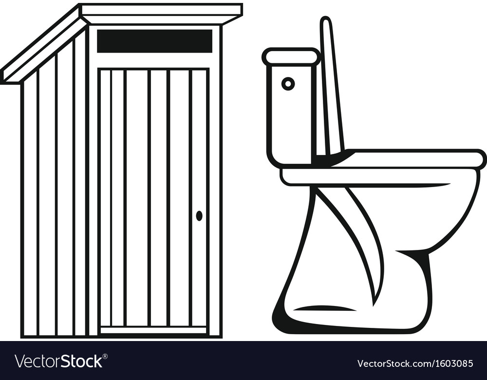 Wc toilet vector | Price: 1 Credit (USD $1)