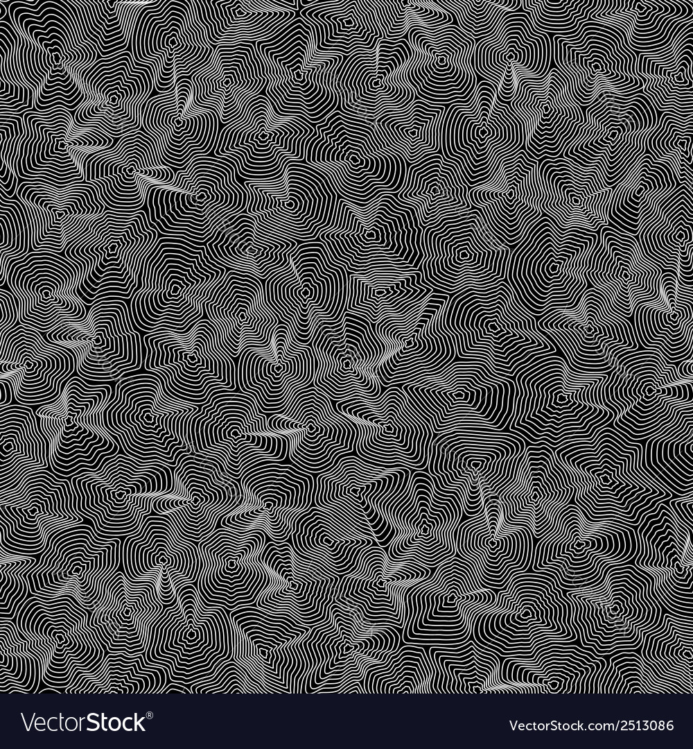 Seamless texture made of white lines on black vector | Price: 1 Credit (USD $1)