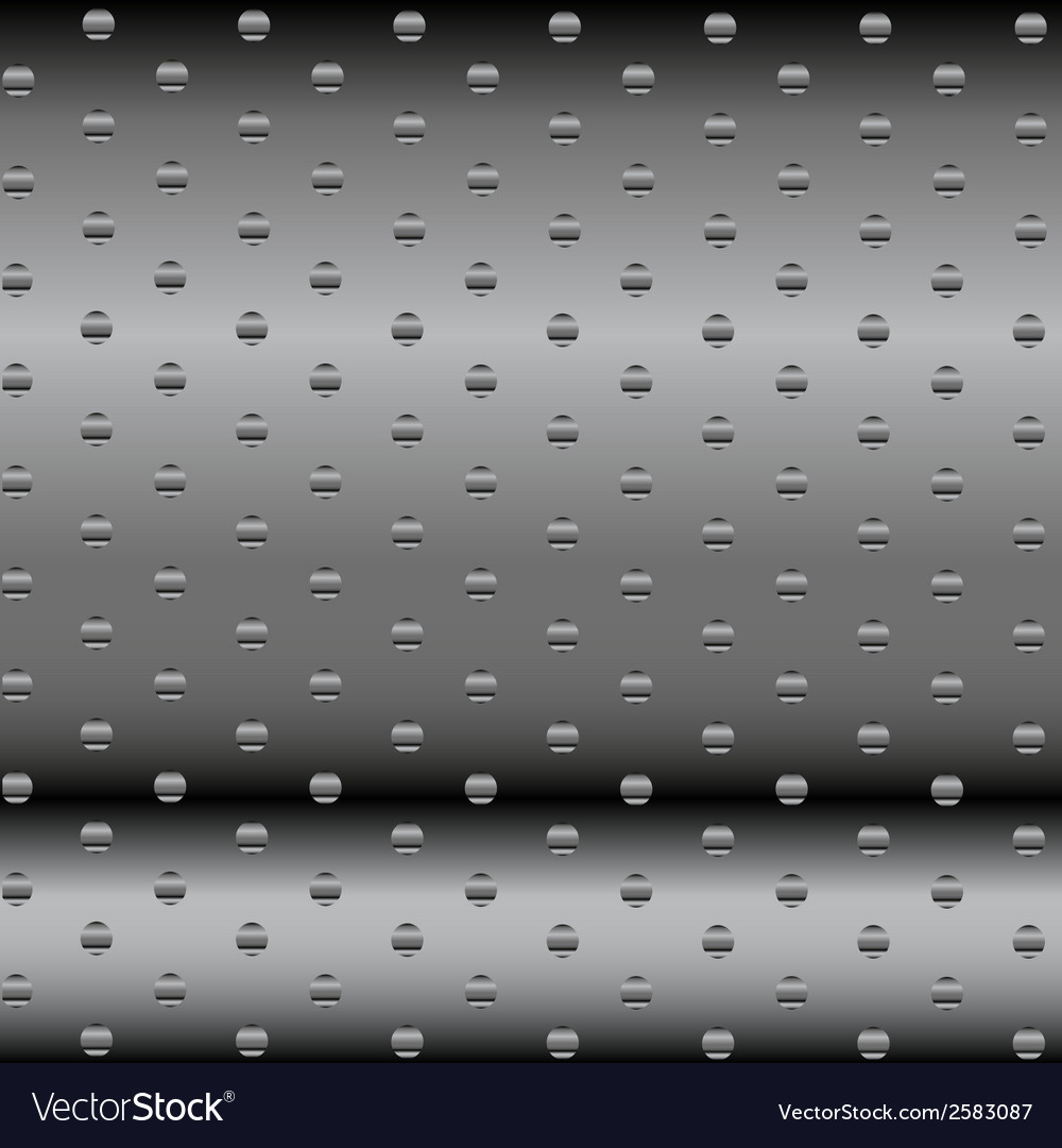 Abstract dotted metal background design vector | Price: 1 Credit (USD $1)