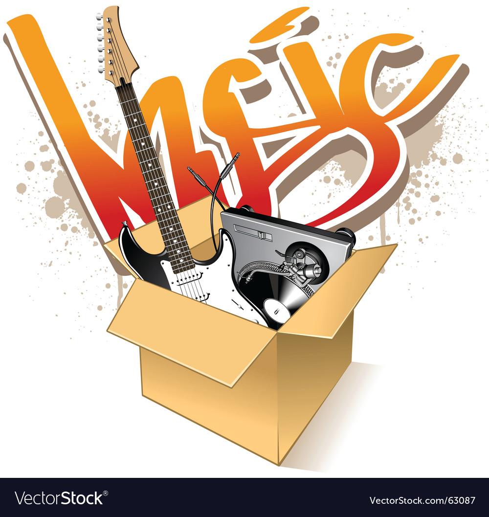 Instruments in box vector | Price: 3 Credit (USD $3)