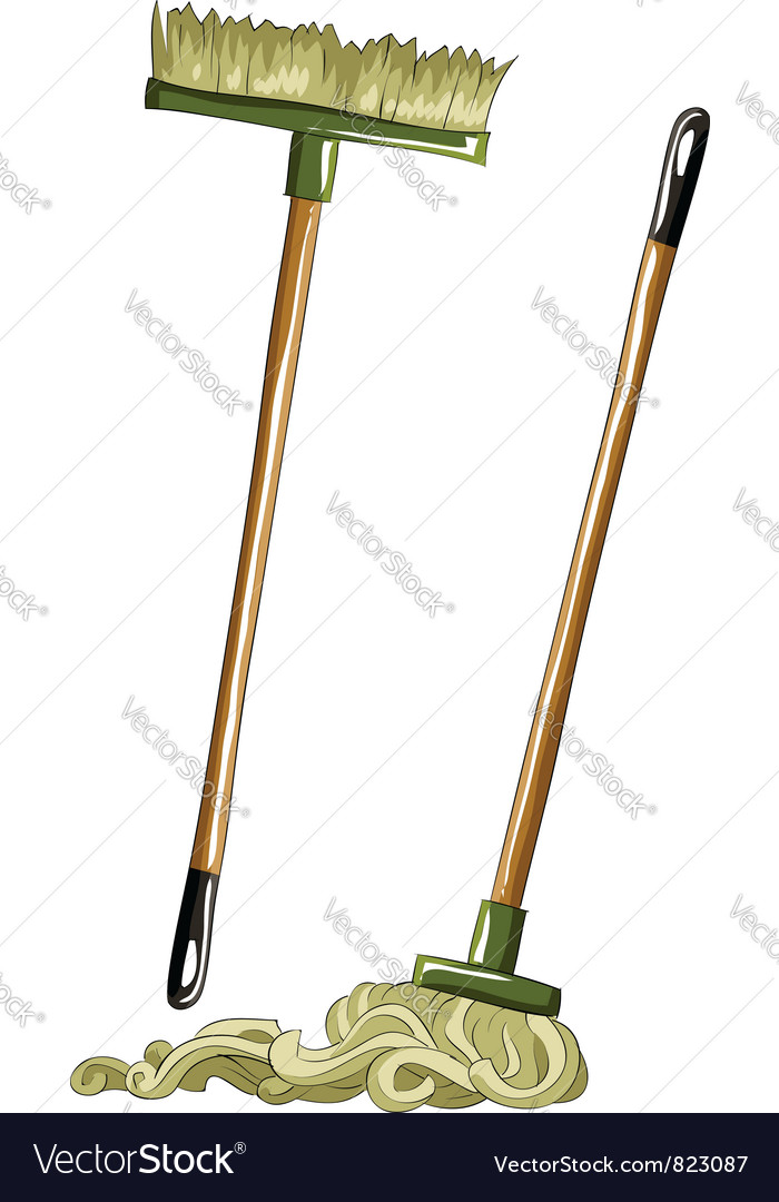 Mop vector | Price: 3 Credit (USD $3)