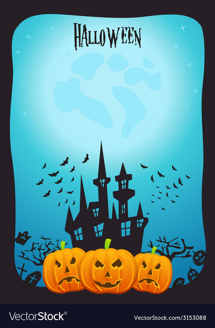 Halloween art vector | Price: 1 Credit (USD $1)