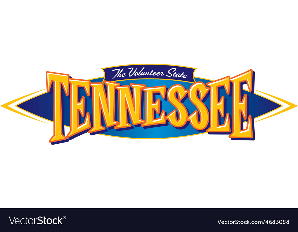 Tennessee the volunteer state vector | Price: 1 Credit (USD $1)