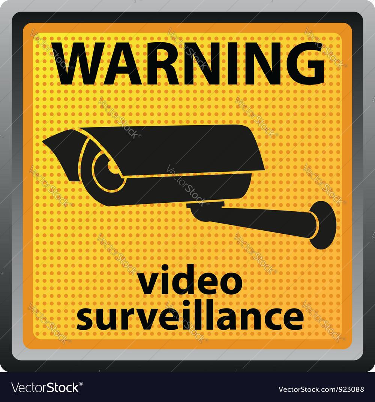 Video surveillance camera 04 vector | Price: 1 Credit (USD $1)