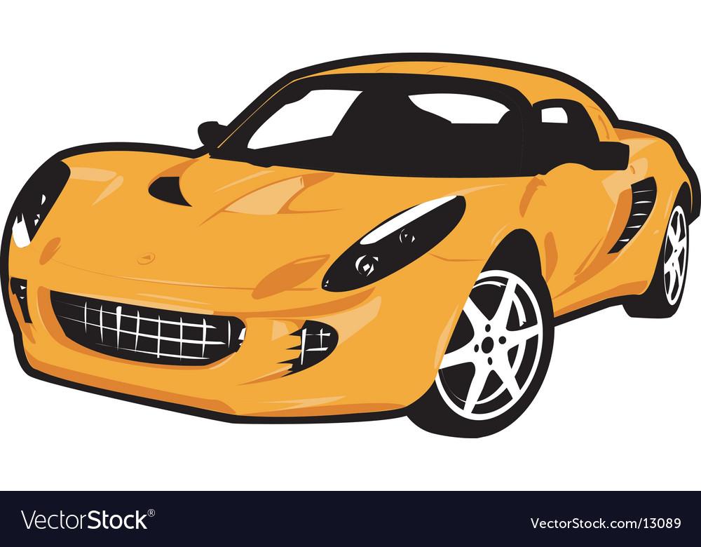 4 wheel car vector | Price: 1 Credit (USD $1)