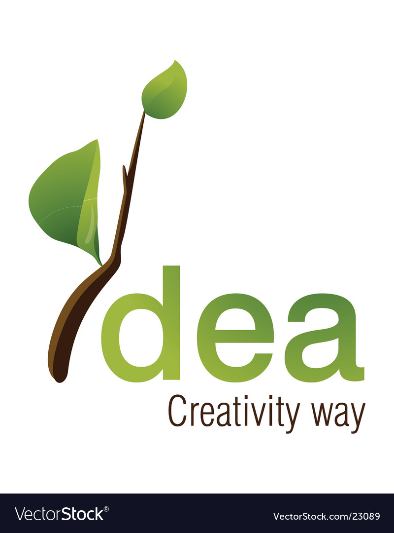 Idea logo design vector | Price: 1 Credit (USD $1)