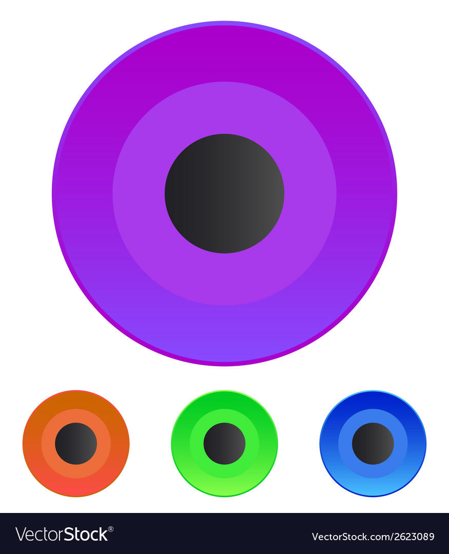 Rec button vector | Price: 1 Credit (USD $1)