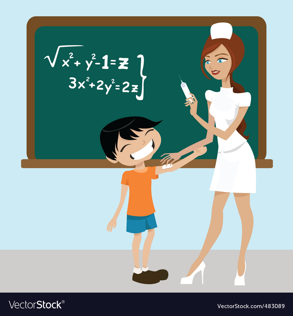 Student and nurse vector | Price: 3 Credit (USD $3)