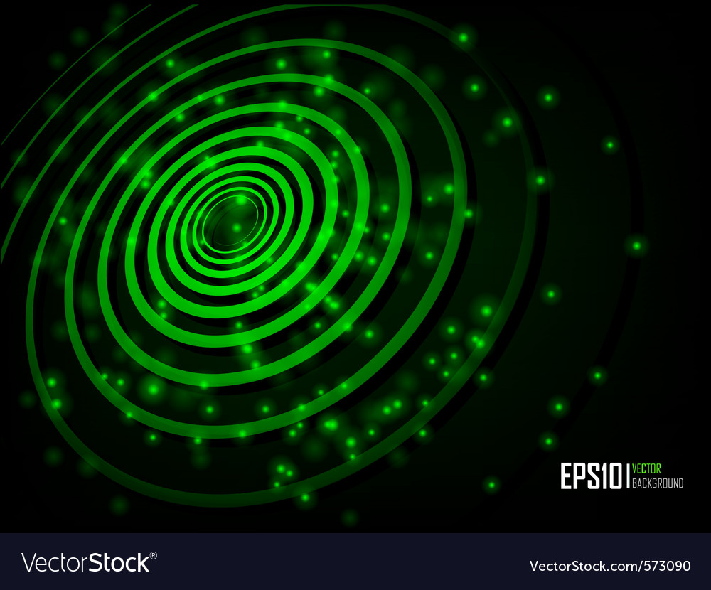 Green abstract glowing background vector | Price: 1 Credit (USD $1)