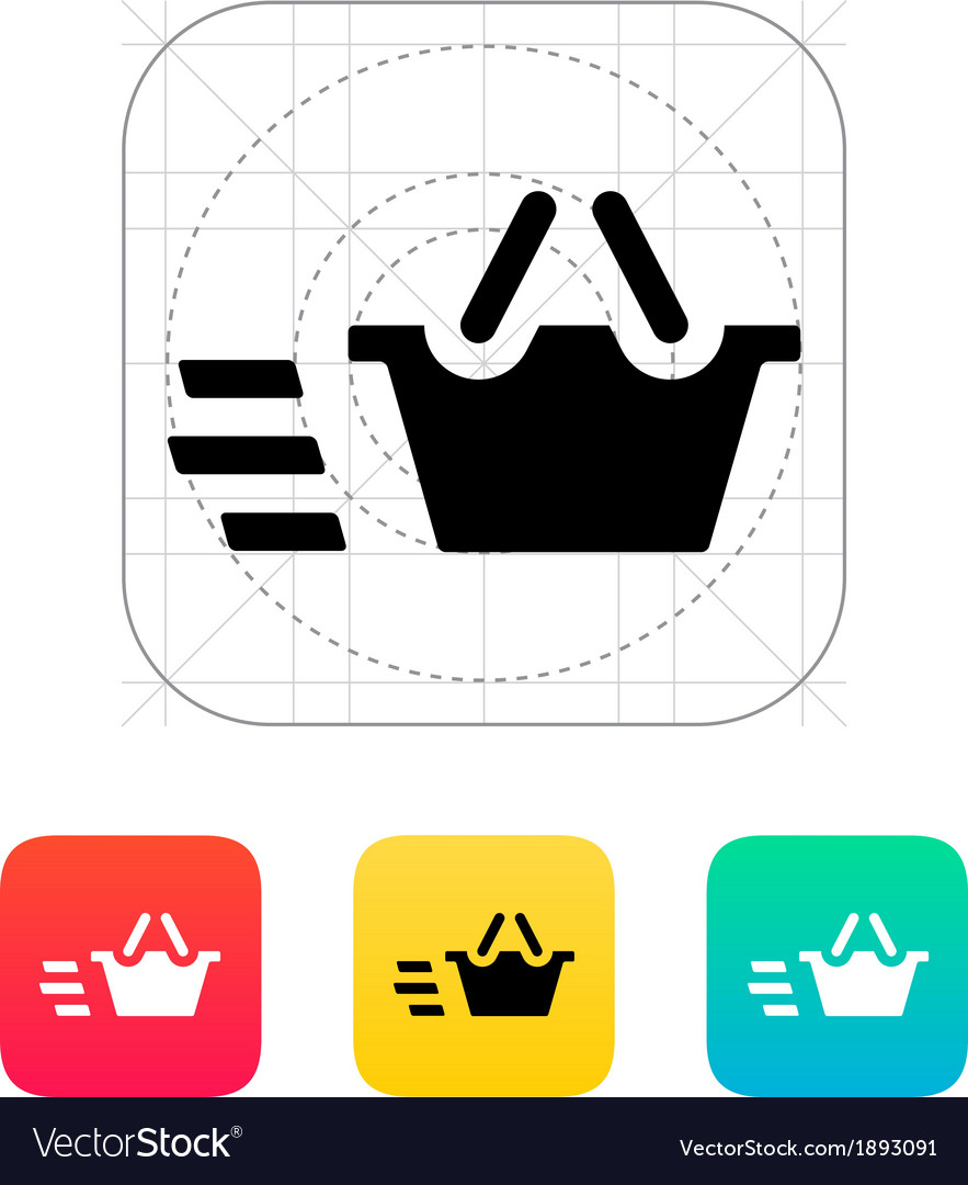 Basket icon vector | Price: 1 Credit (USD $1)