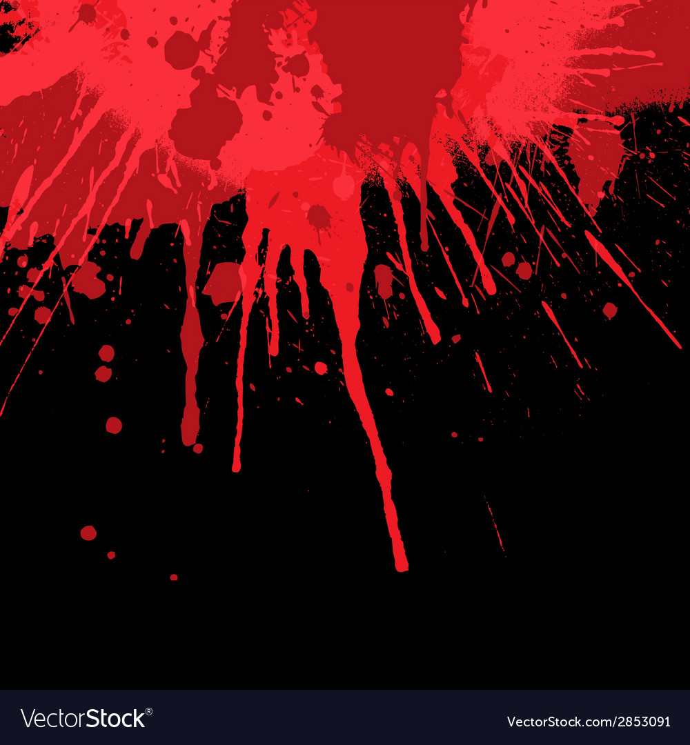 Blood splatter background vector | Price: 1 Credit (USD $1)