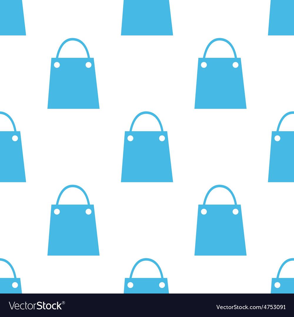 Flat shopping bag pattern vector | Price: 1 Credit (USD $1)