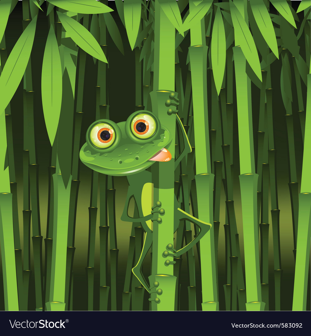 Curious frog vector   Price: 3 Credit (USD $3)