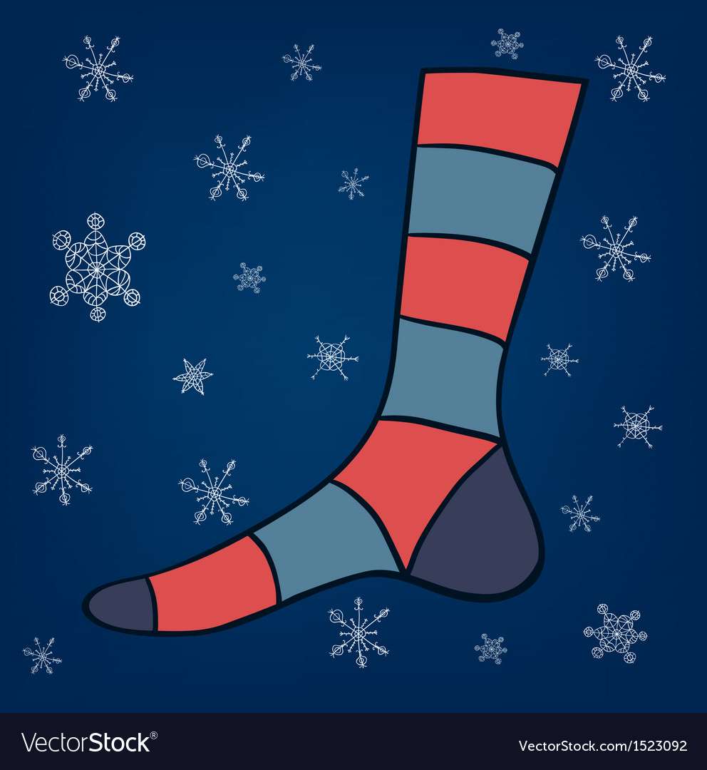Eps 10 sock vector | Price: 1 Credit (USD $1)