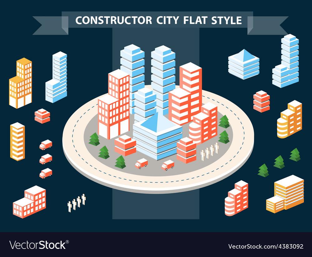 Urban constructor vector   Price: 3 Credit (USD $3)