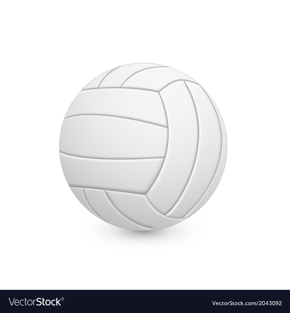 Voleyball ball vector | Price: 1 Credit (USD $1)