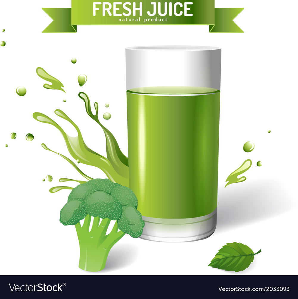 Fresh juice background vector | Price: 1 Credit (USD $1)