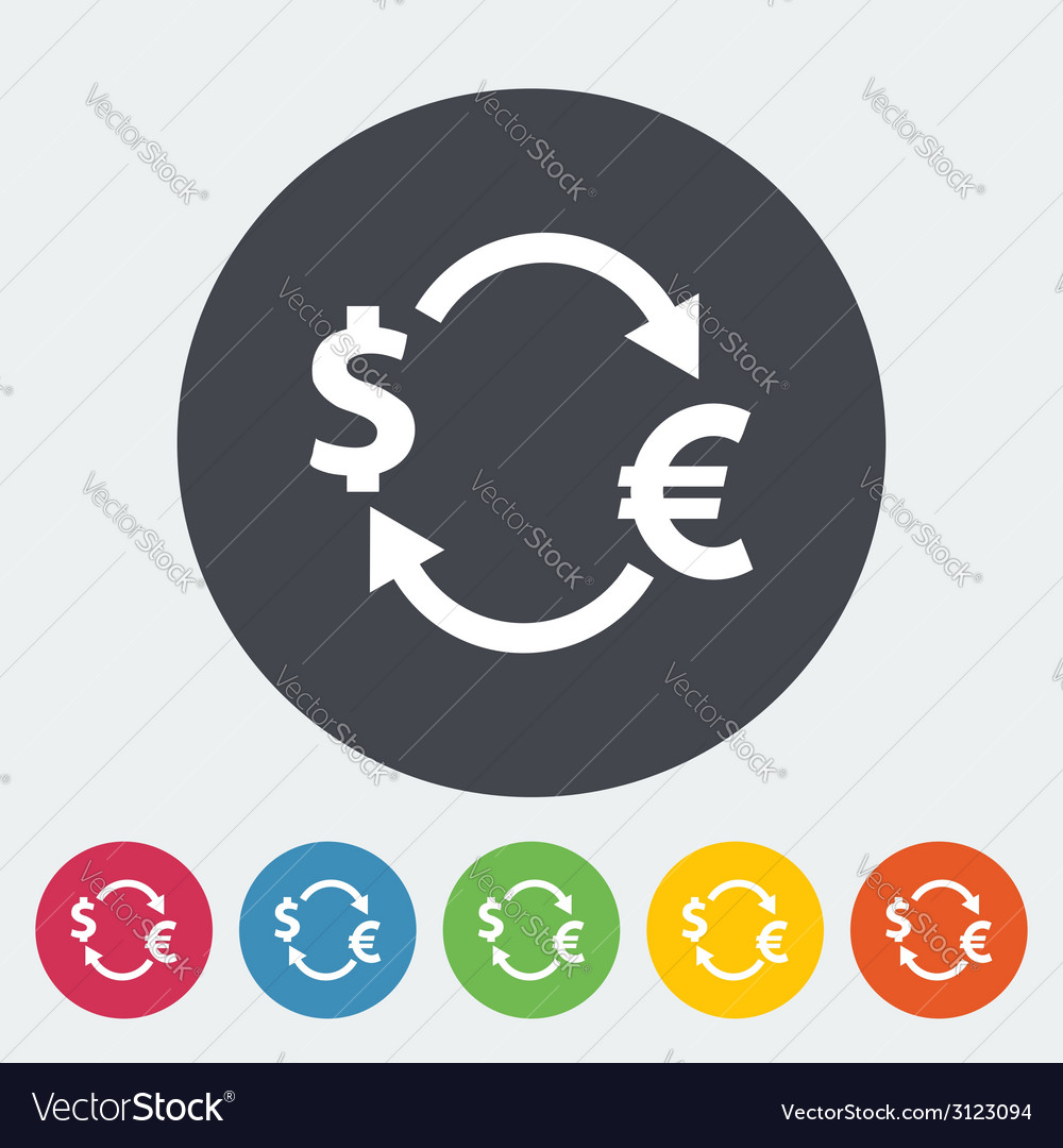 Currency exchange vector | Price: 1 Credit (USD $1)