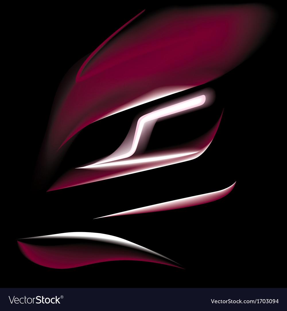 Sports car bordeaux vector | Price: 1 Credit (USD $1)