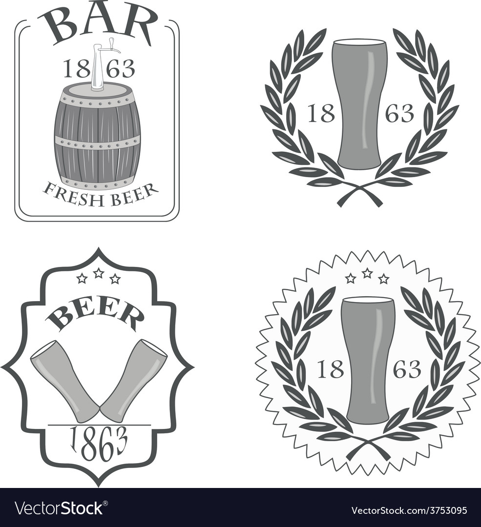 Beer fresh vector | Price: 1 Credit (USD $1)
