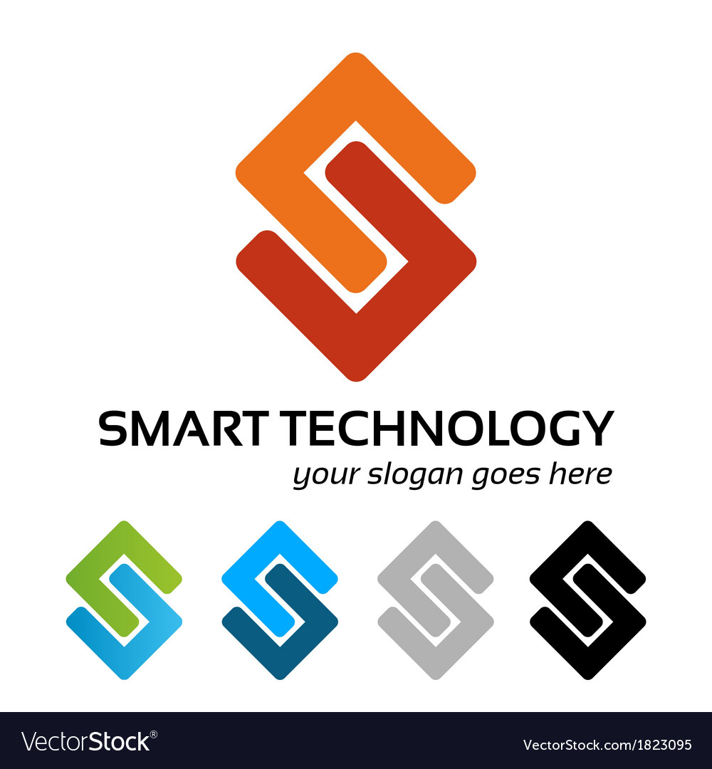 Smart tech logo work vector | Price: 1 Credit (USD $1)