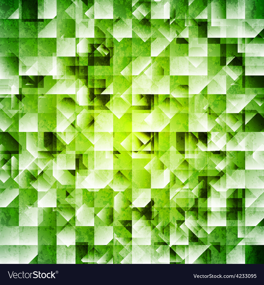 Tech green iridescent background vector | Price: 1 Credit (USD $1)