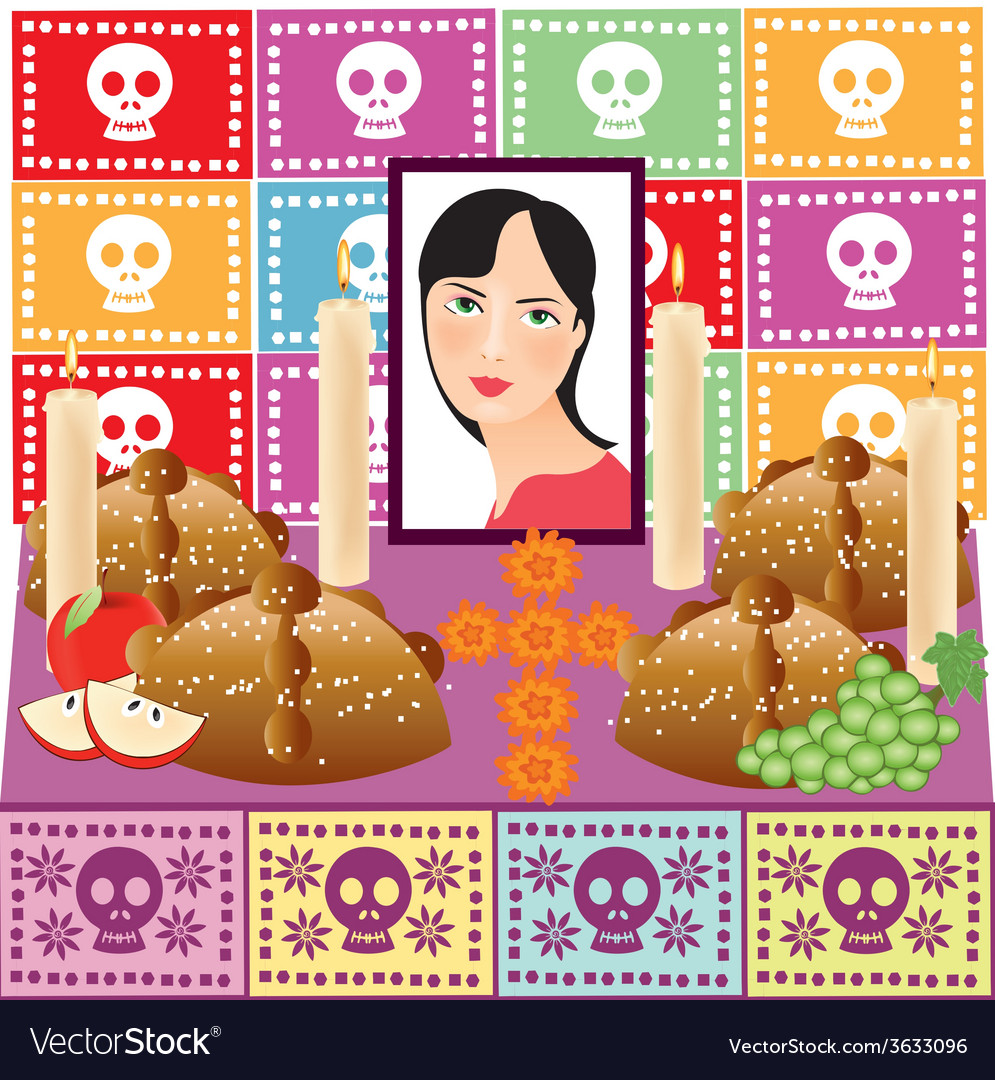 Day of the dead 3 vector | Price: 1 Credit (USD $1)